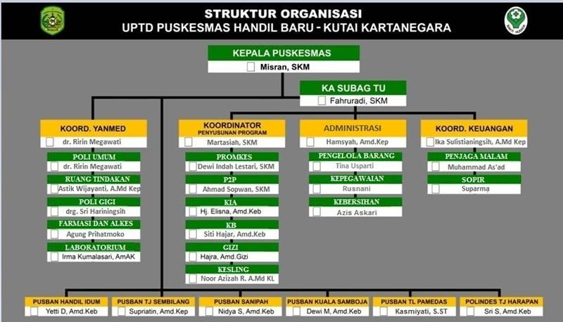 struktur organisasi1